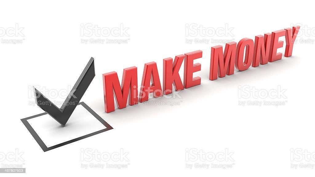 make money royalty-free stock photo