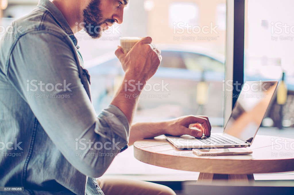 I make my own office hours stock photo