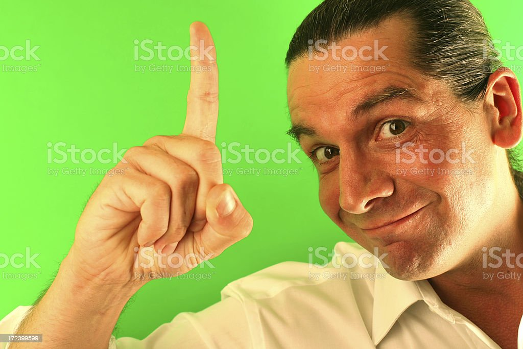 Make oneself clear royalty-free stock photo