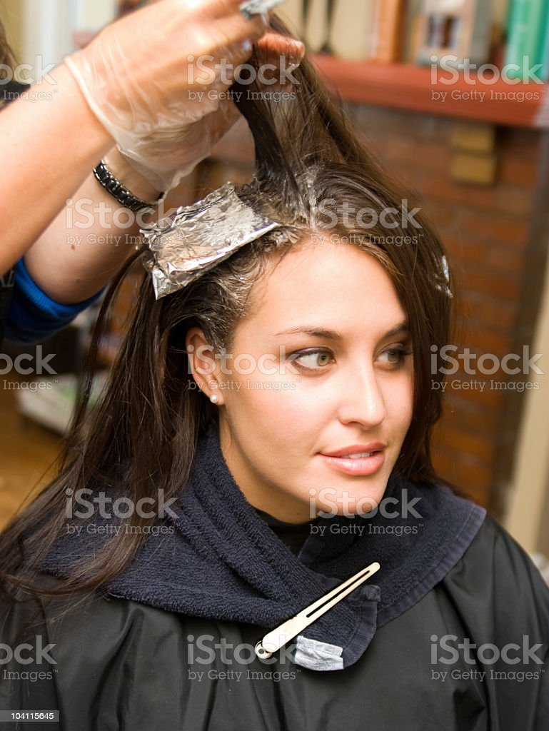 Make over royalty-free stock photo