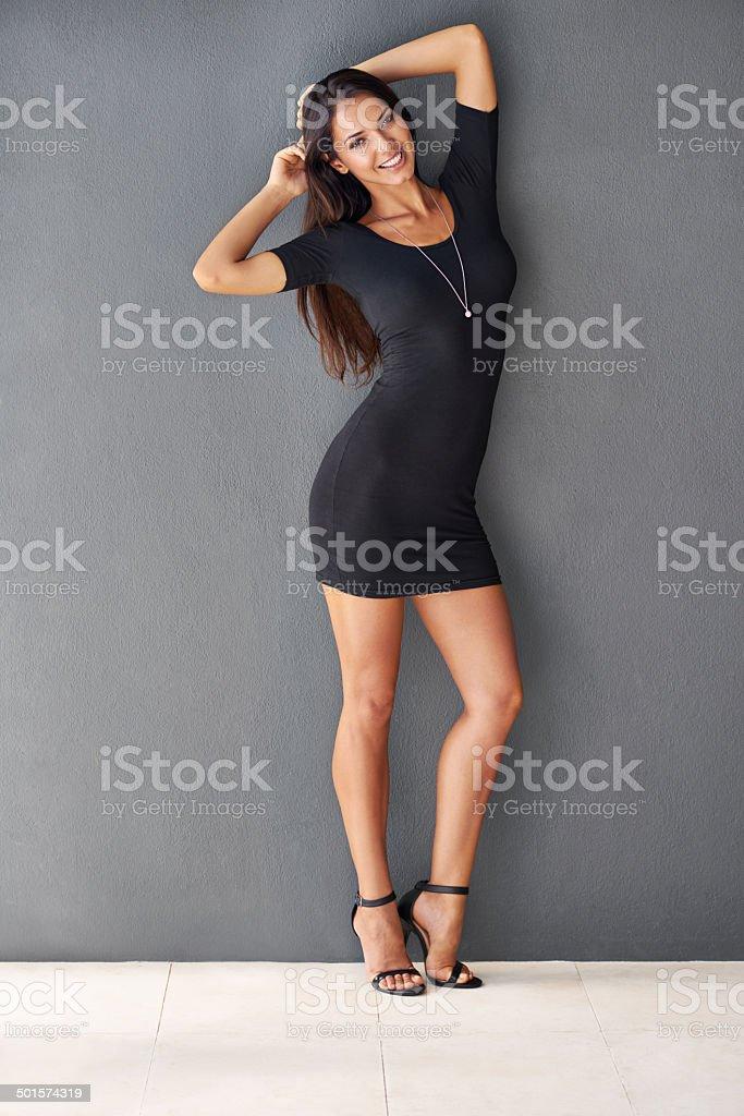 I make sexy look so easy stock photo