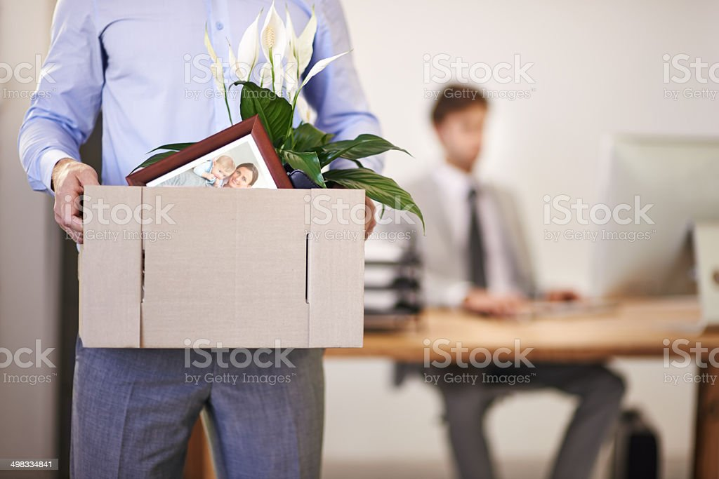 Make sure you're irreplaceable stock photo