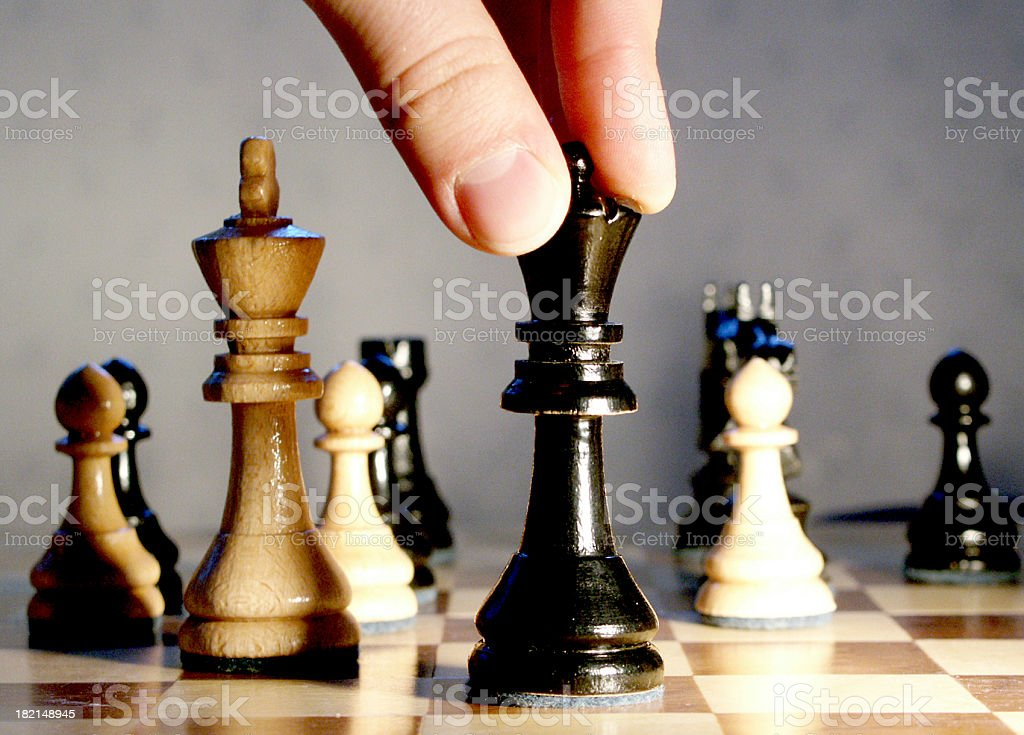 make the move royalty-free stock photo