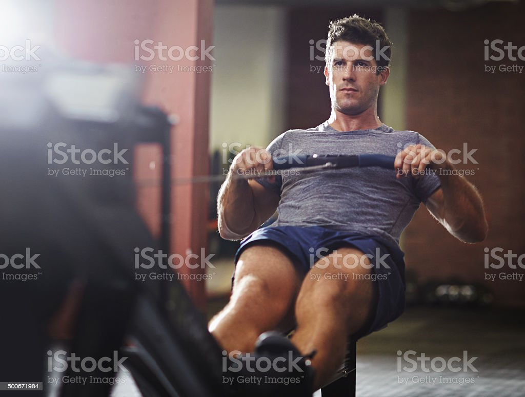 Make those muscles work! stock photo