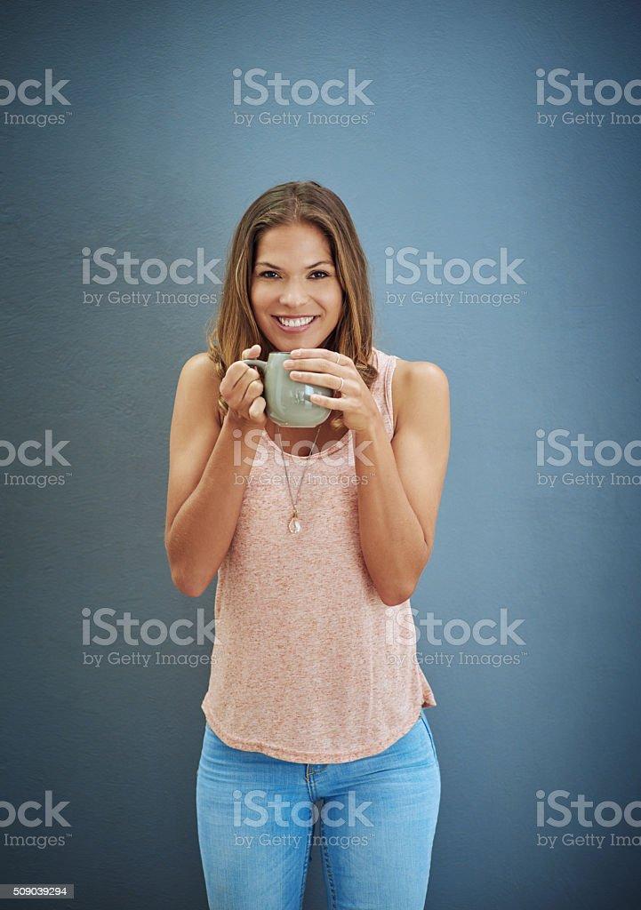 Make time for tea stock photo
