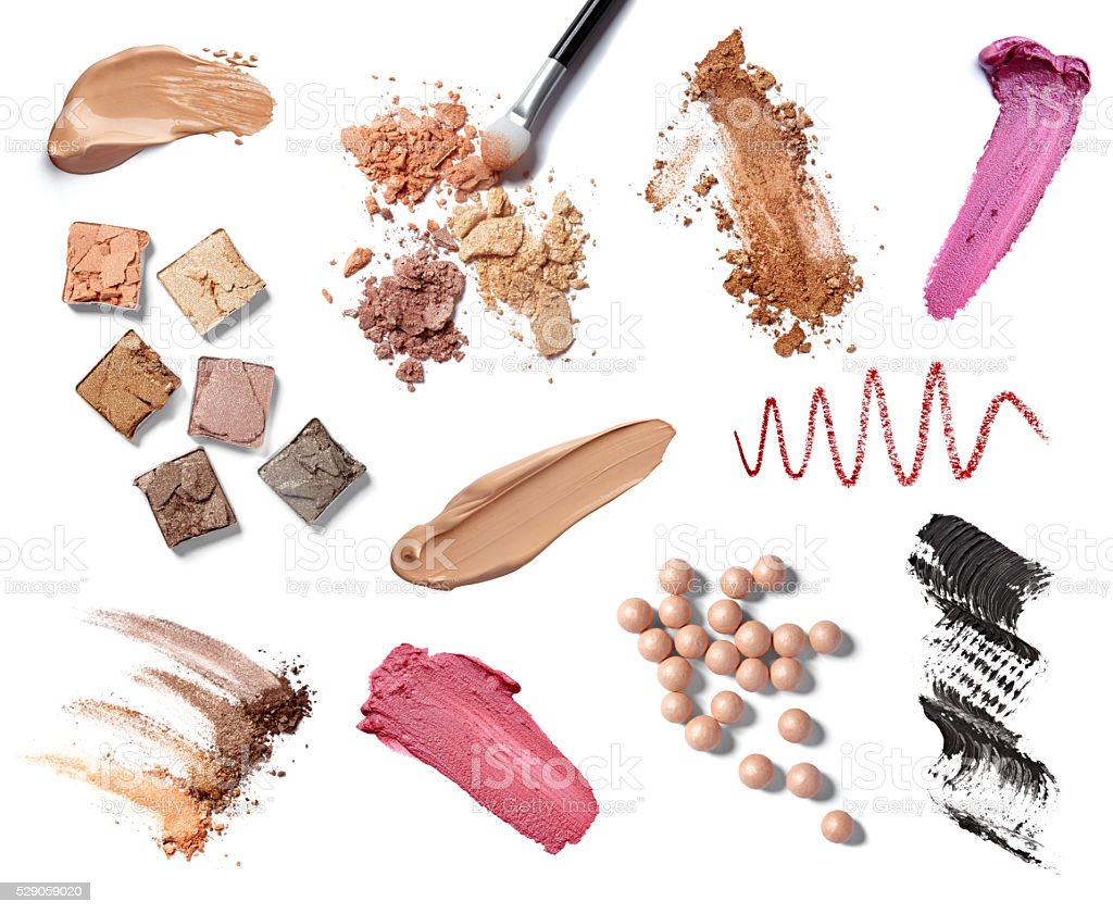 make up accessories stock photo