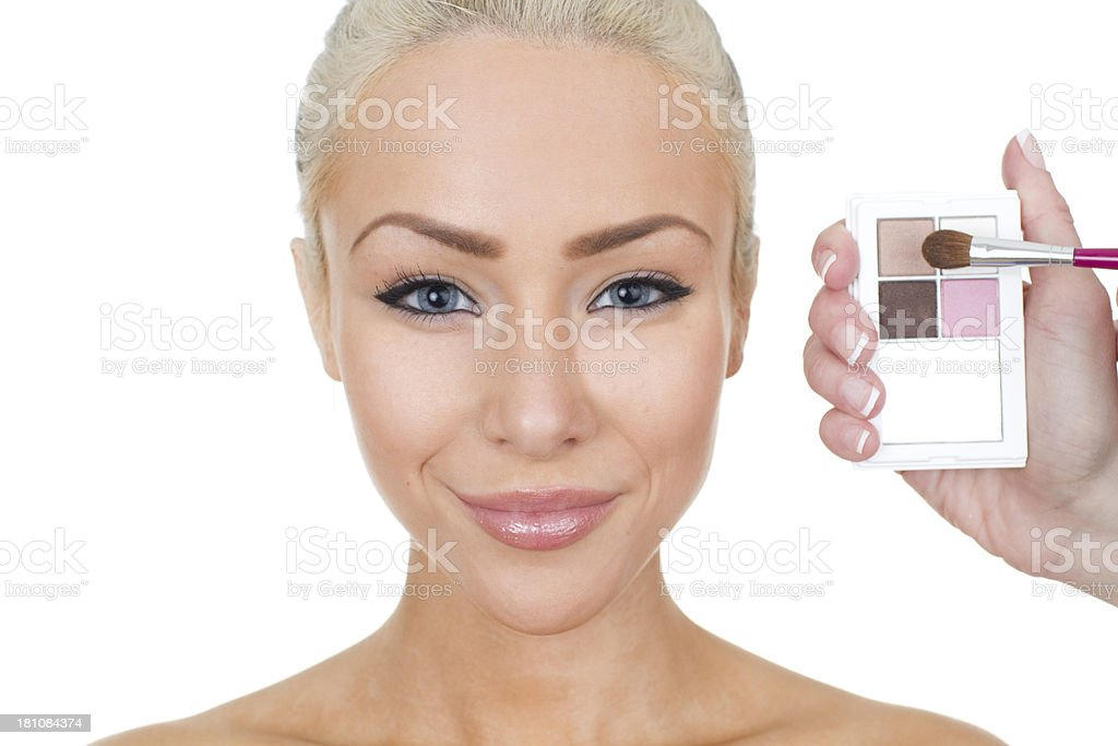 make up and beauty royalty-free stock photo
