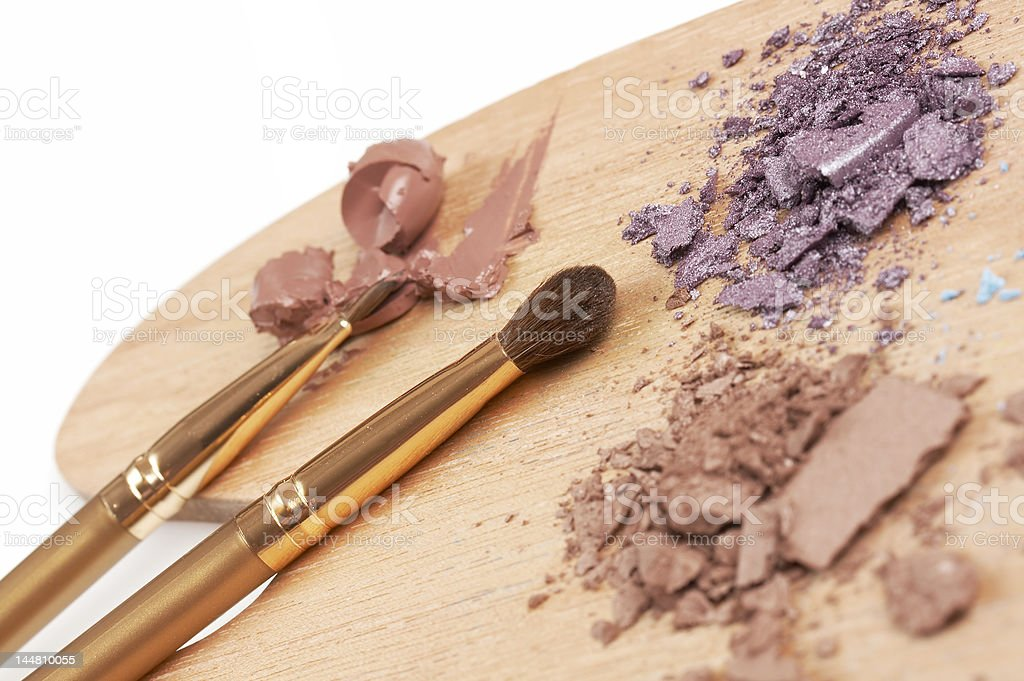 make up artist palette royalty-free stock photo