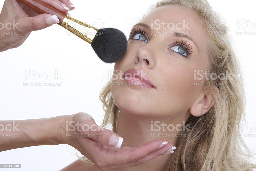 make up artistry royalty-free stock photo