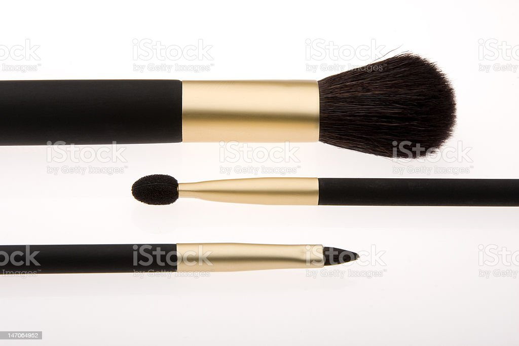Make Up Brusches royalty-free stock photo