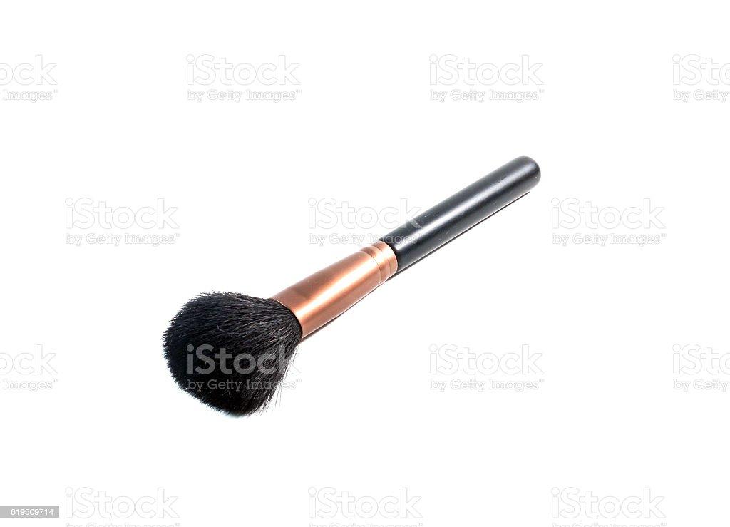 make up brush powder blusher stock photo
