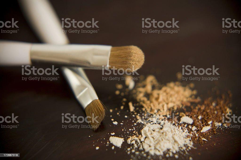 make up brushes series royalty-free stock photo