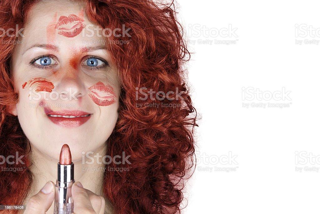 make up crazy royalty-free stock photo