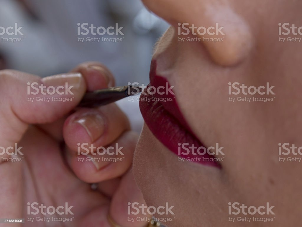 Make Up Detail royalty-free stock photo