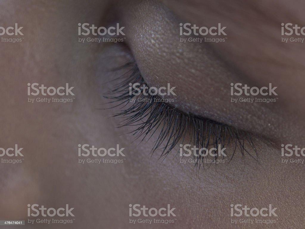 Make Up Detail royalty-free stock photo