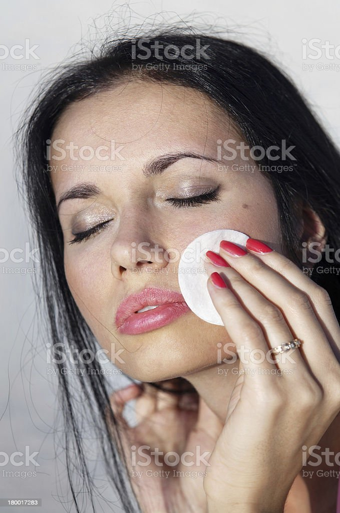 Make up for face royalty-free stock photo