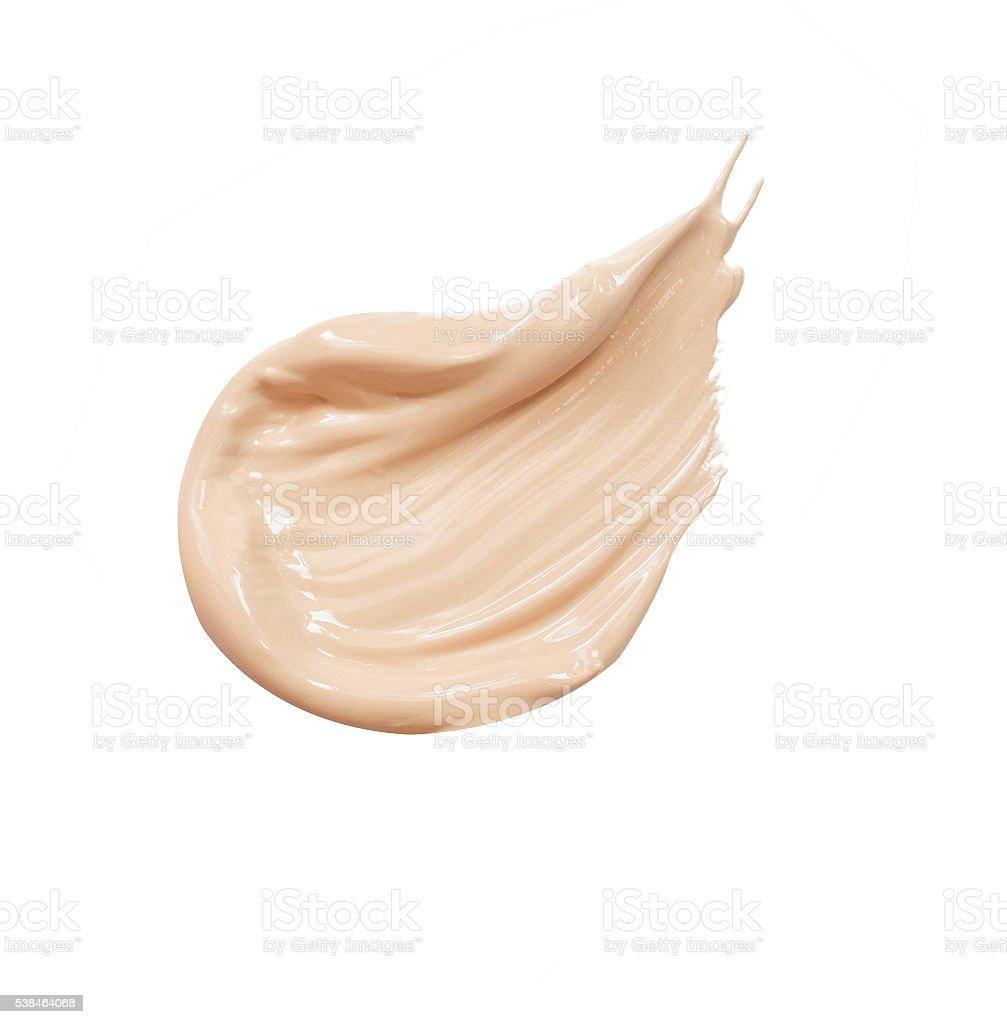 make up liquid foundation stock photo