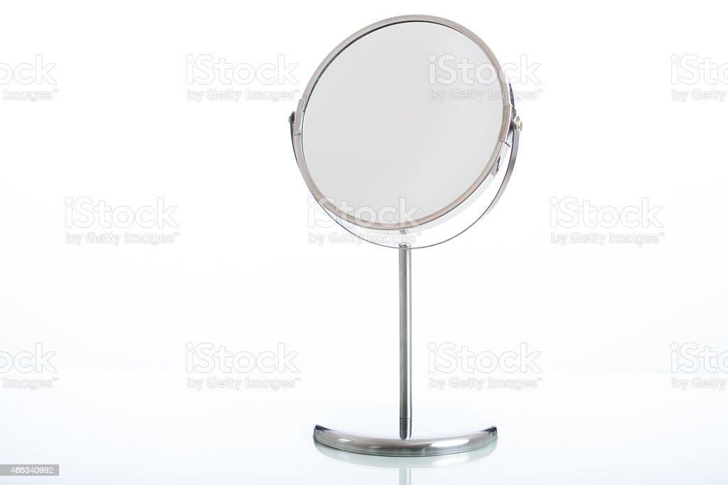 Make up mirror stock photo