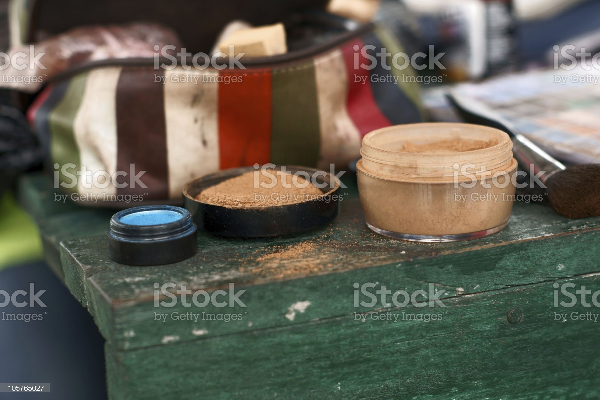 make up on location royalty-free stock photo