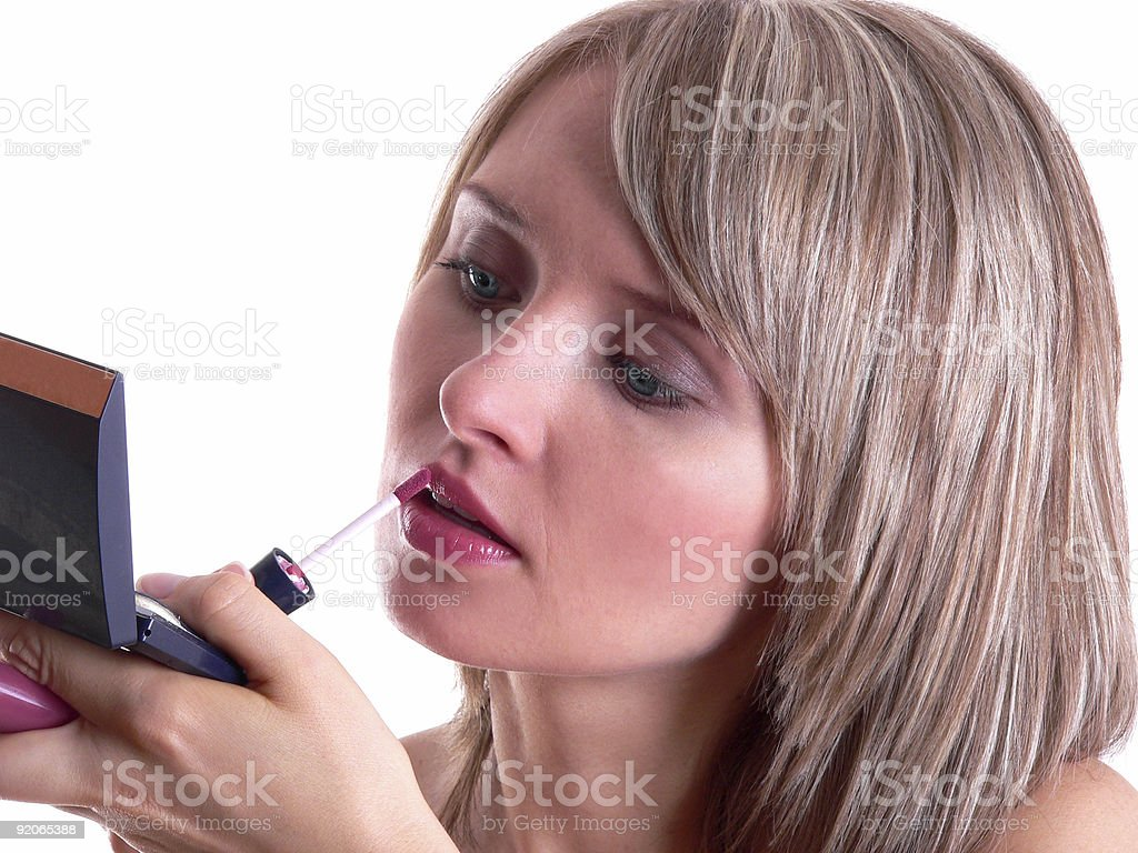 Make up (2) royalty-free stock photo