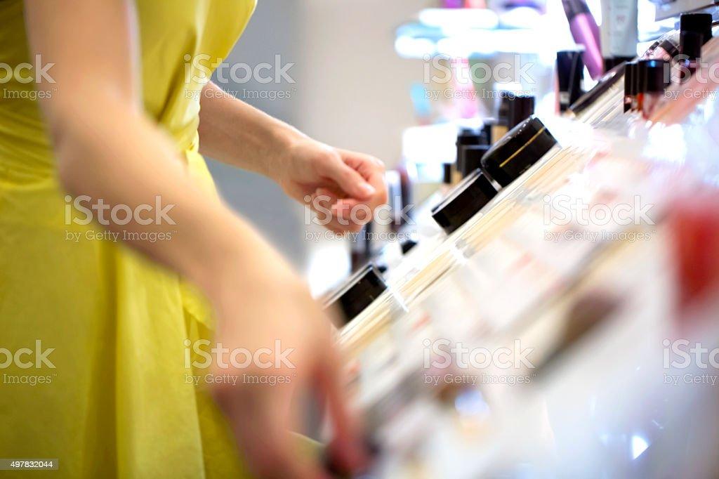 Make up selection stock photo
