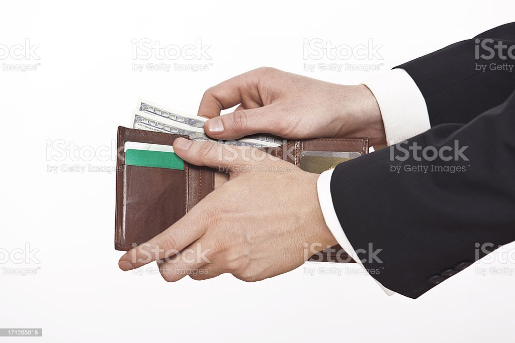 make your budget well stock photo