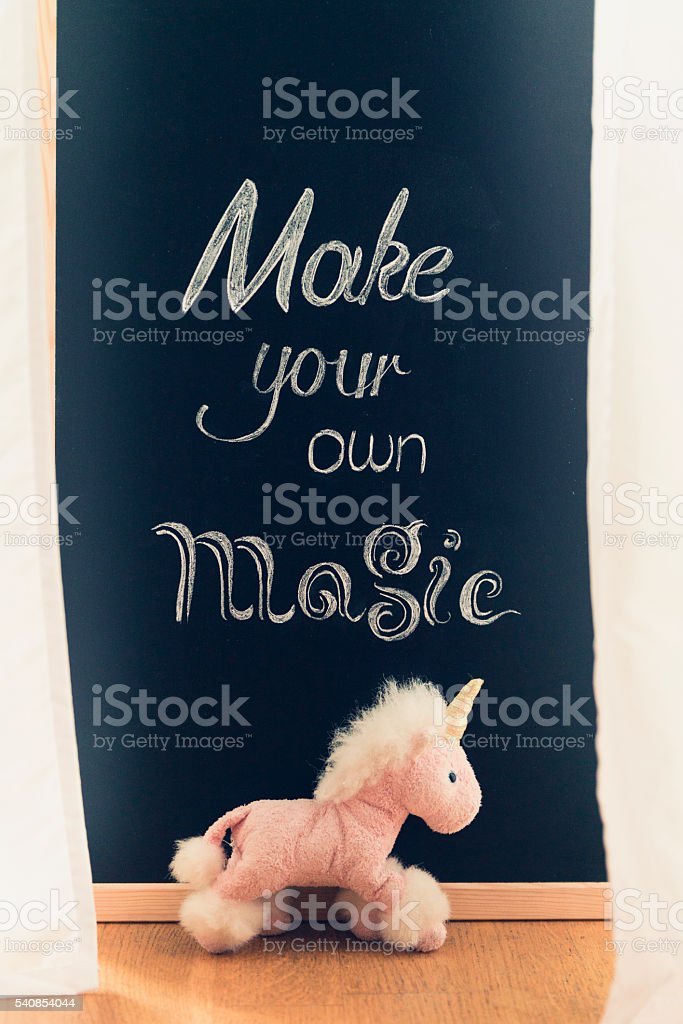 make your own magic stock photo