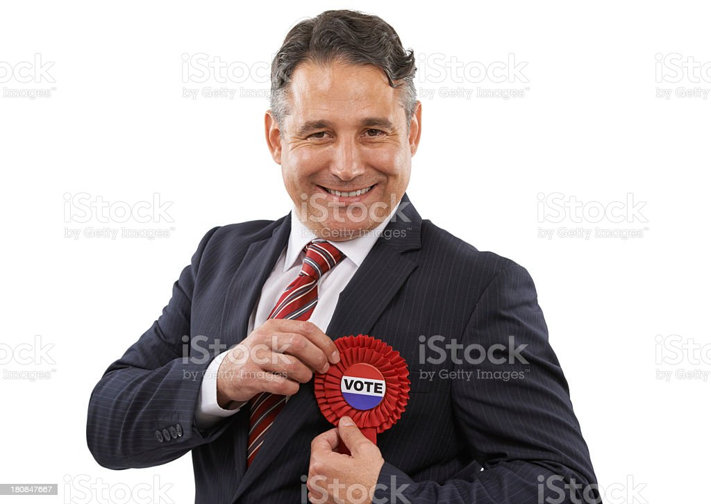 Make your vote count royalty-free stock photo