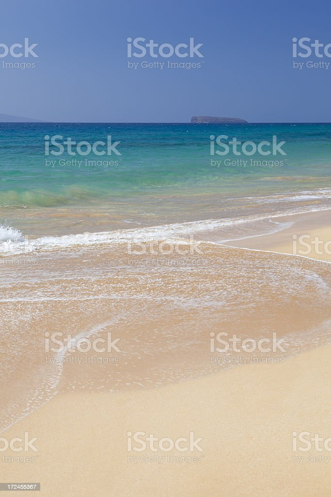 Makena Beach, Maui royalty-free stock photo
