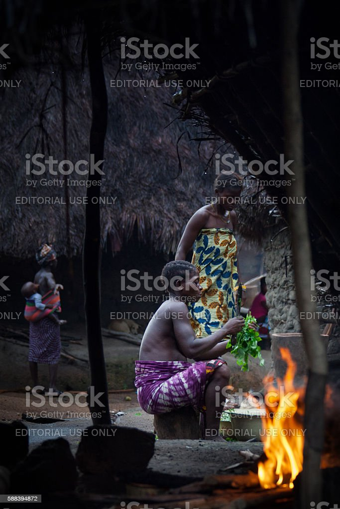 Makeni, Bombali District, Sierra Leone, Africa stock photo