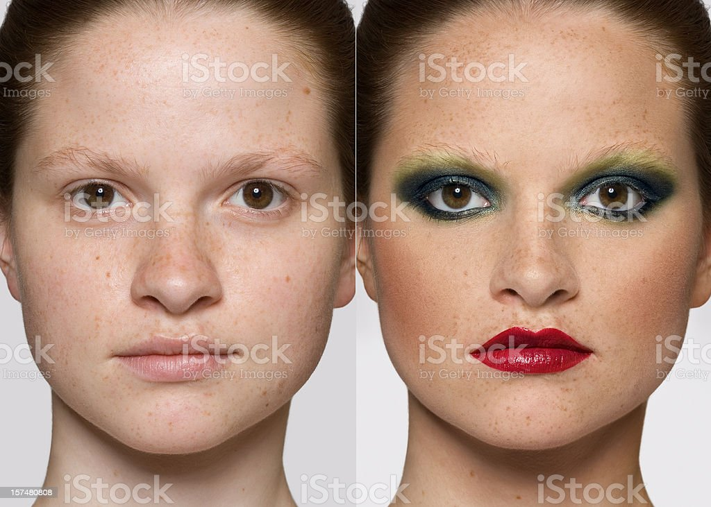 Makeover royalty-free stock photo