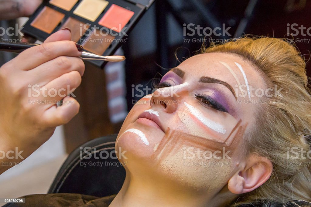 Makeover stock photo