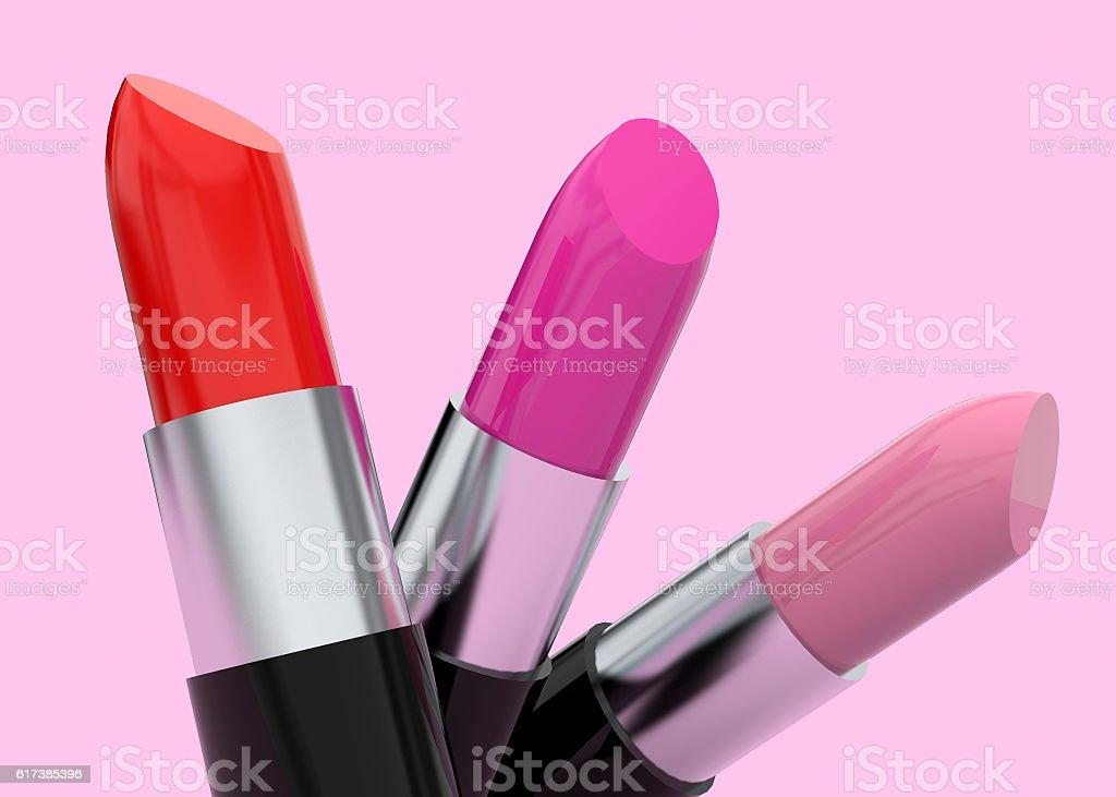 Make-Up 3D stock photo