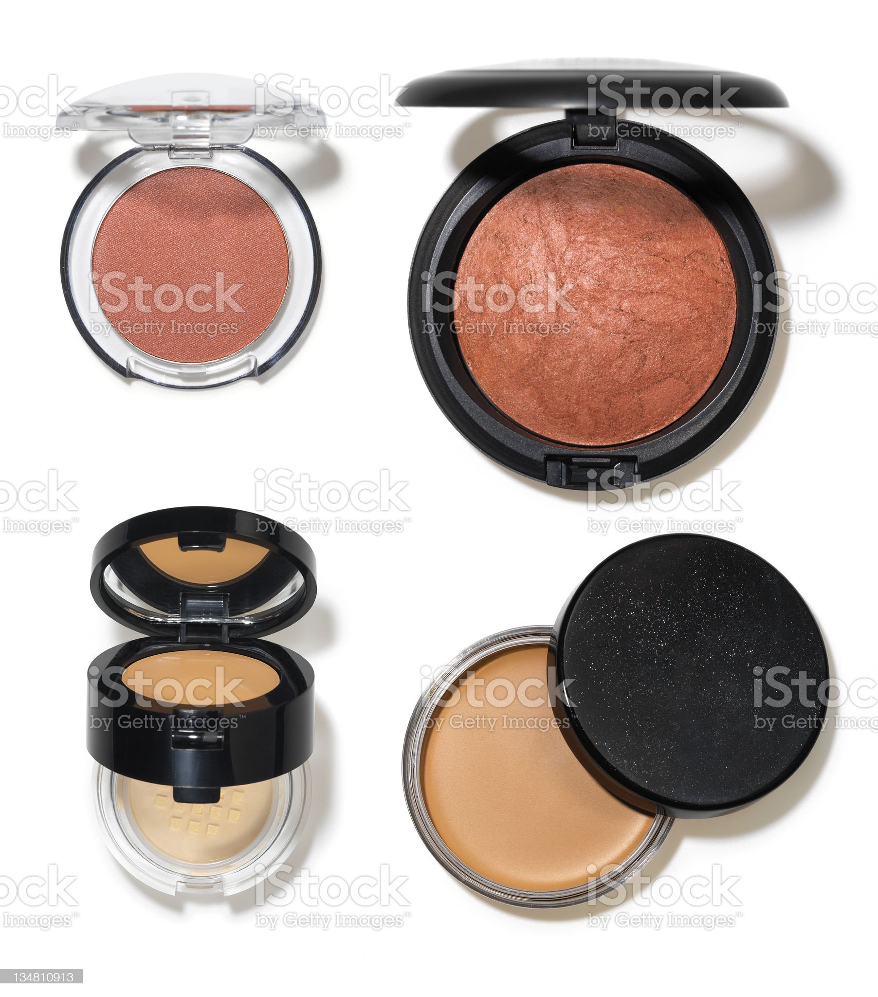Makeup accessories 2 royalty-free stock photo