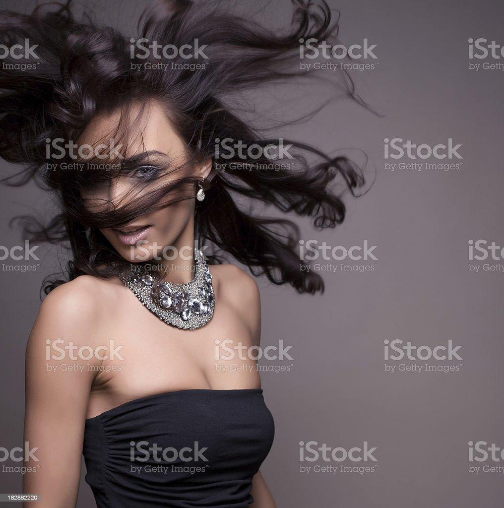 Makeup & Fashion royalty-free stock photo