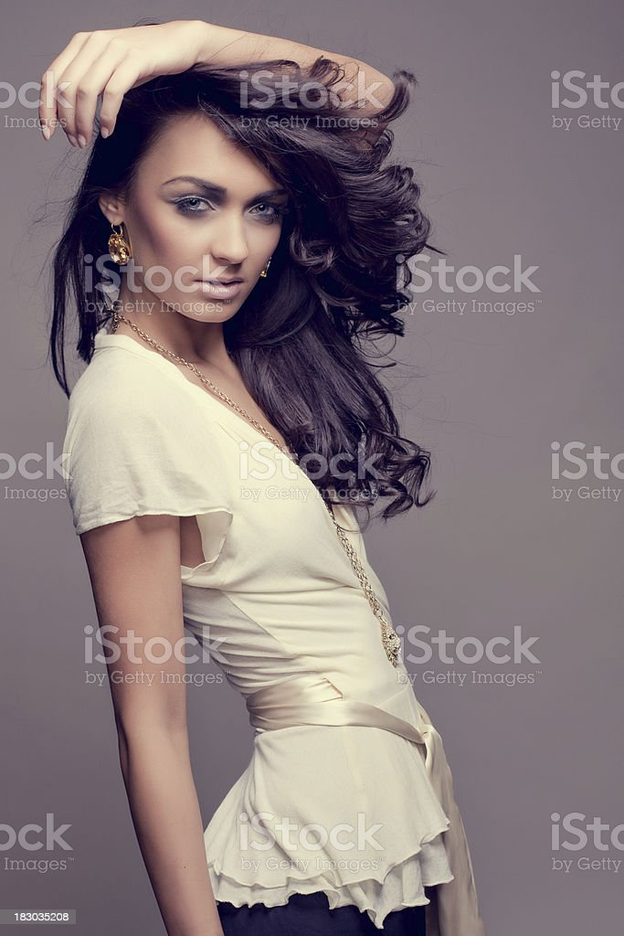 Makeup and Fashion stock photo
