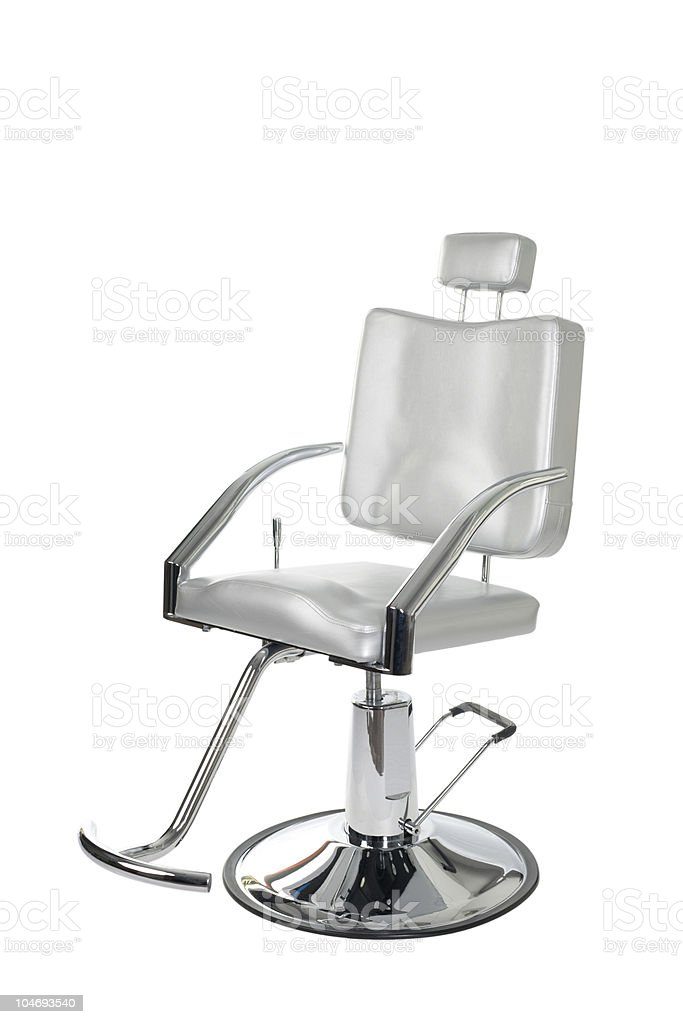 makeup artist chair royalty-free stock photo