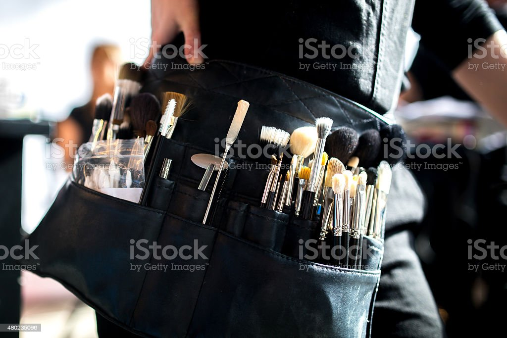 Make-up Artist stock photo