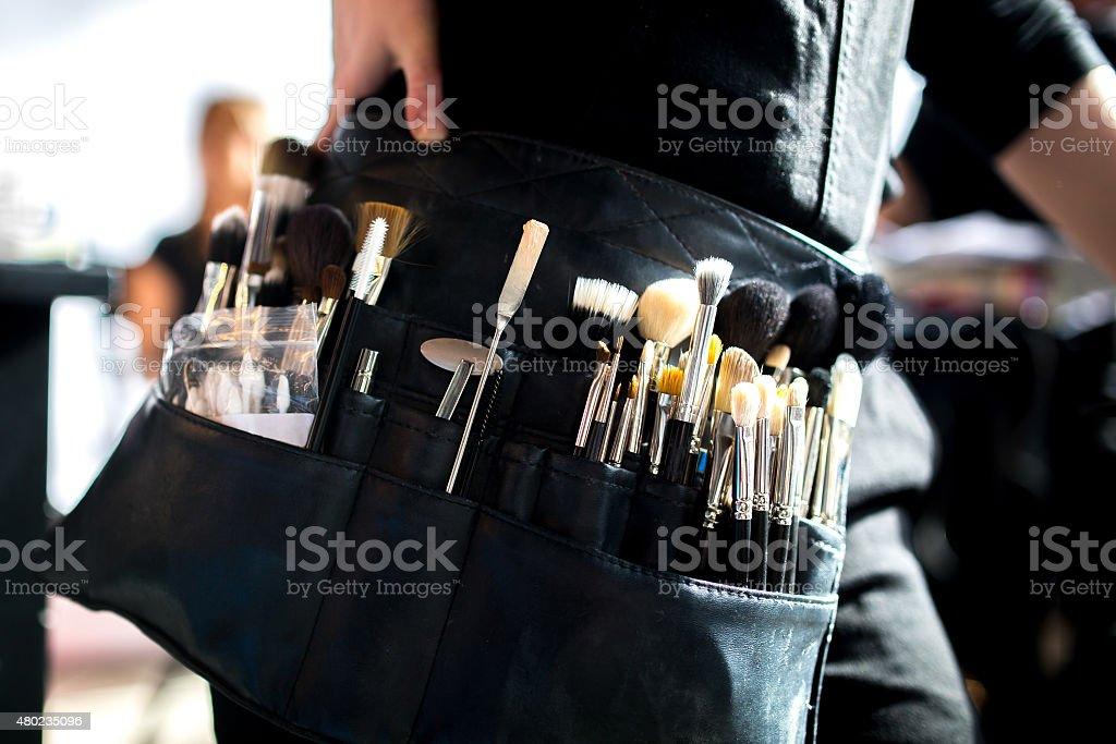 Make-up Artist stock photo