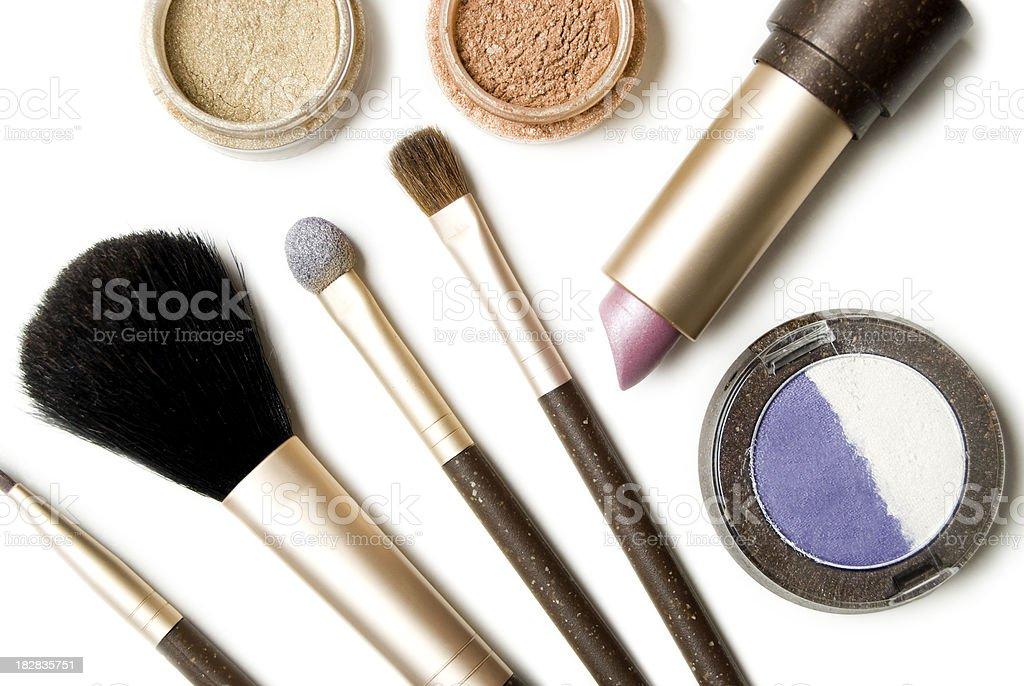 Make-up background stock photo