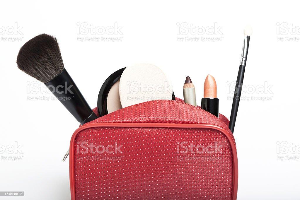 Makeup Bag royalty-free stock photo