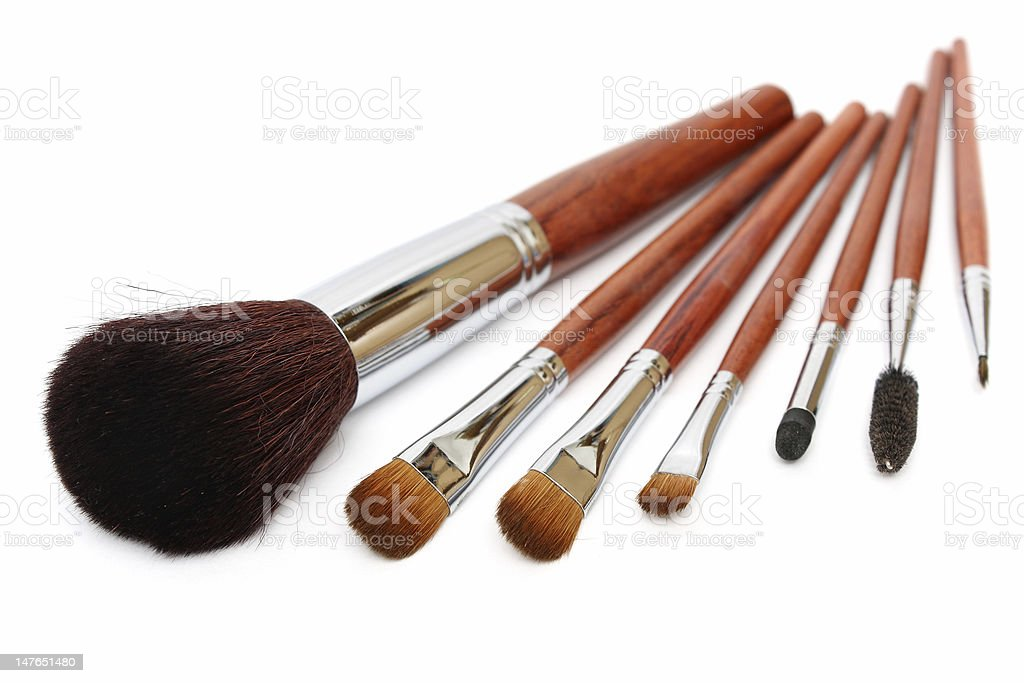Makeup Brush royalty-free stock photo