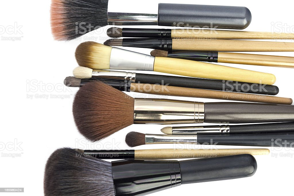 Makeup Brush stock photo