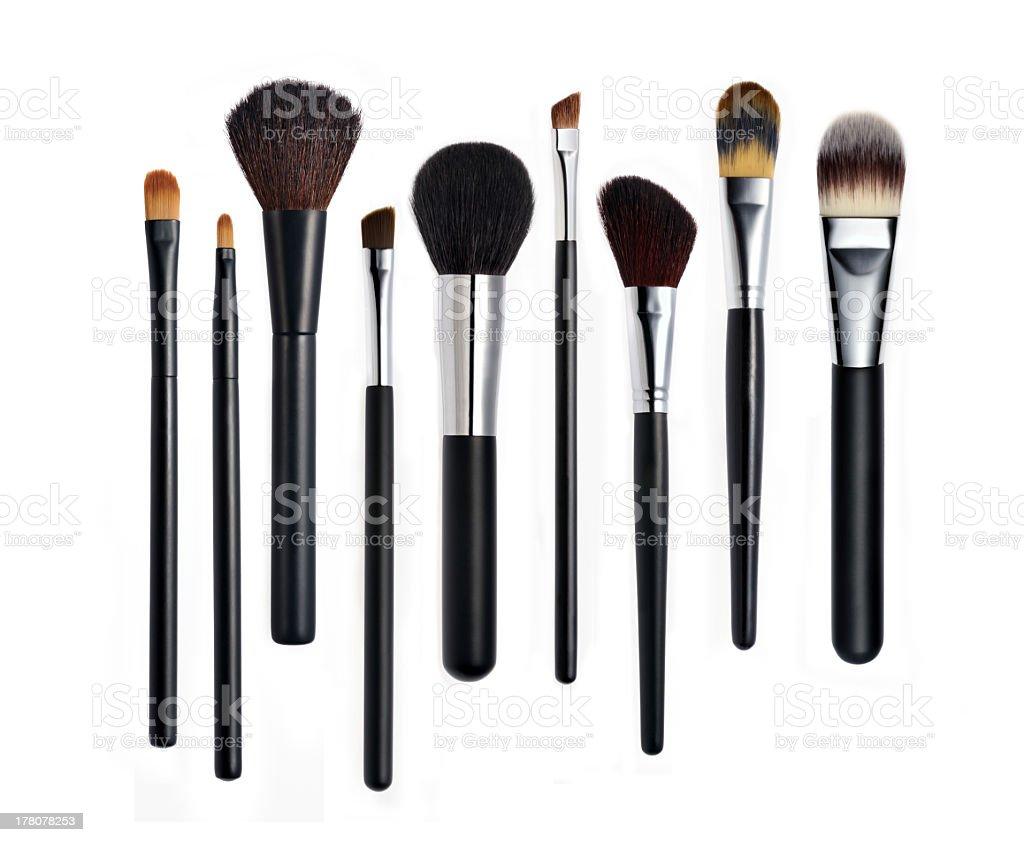 Make-up Brushes stock photo