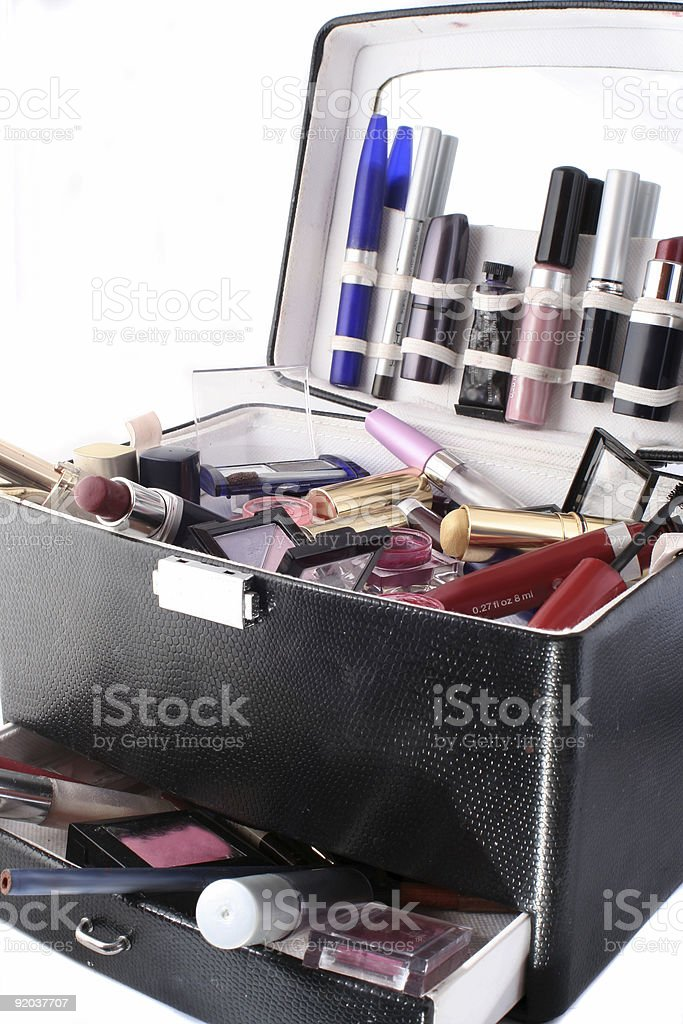 makeup case royalty-free stock photo