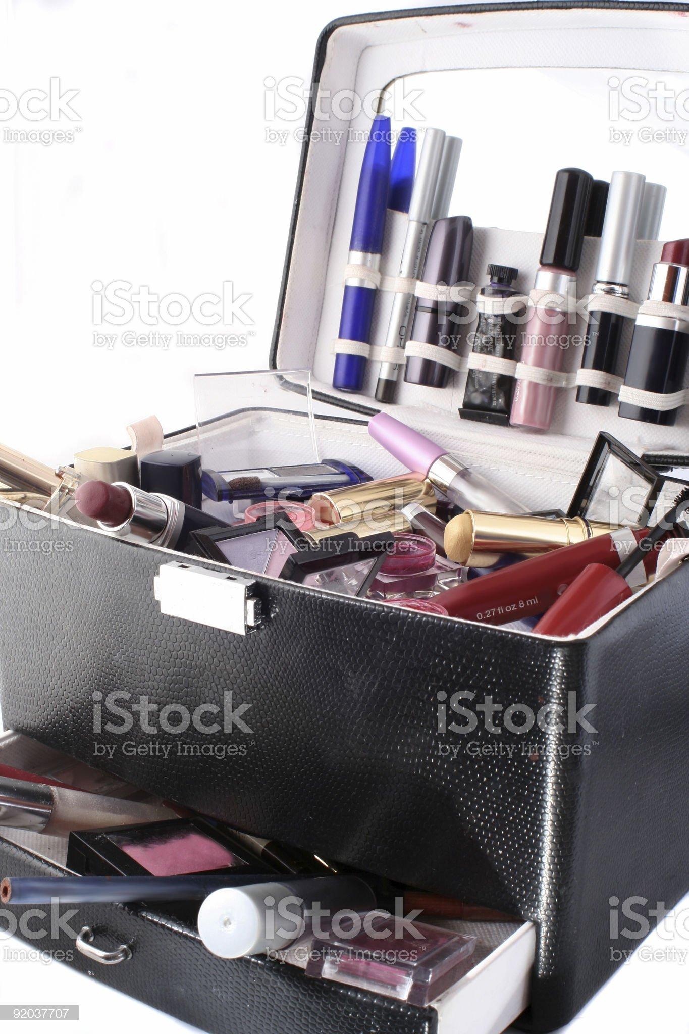makeup case royalty-free stock photo