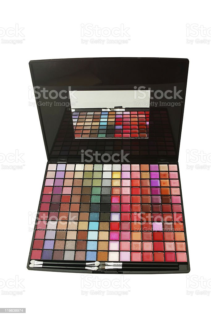 Make-up collection royalty-free stock photo