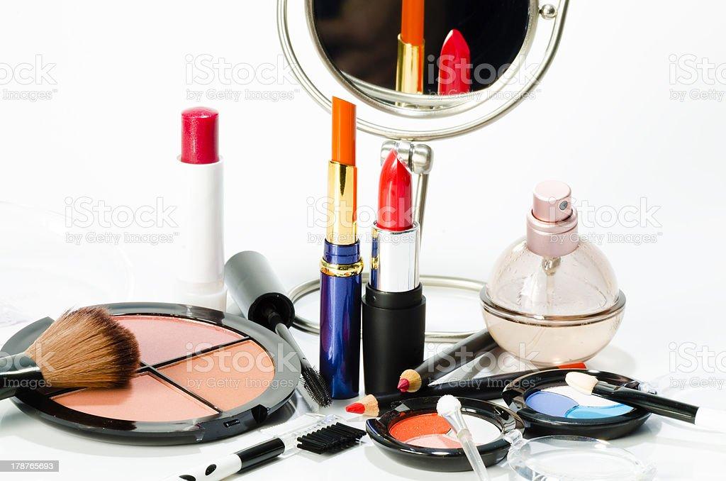 Makeup Collection stock photo