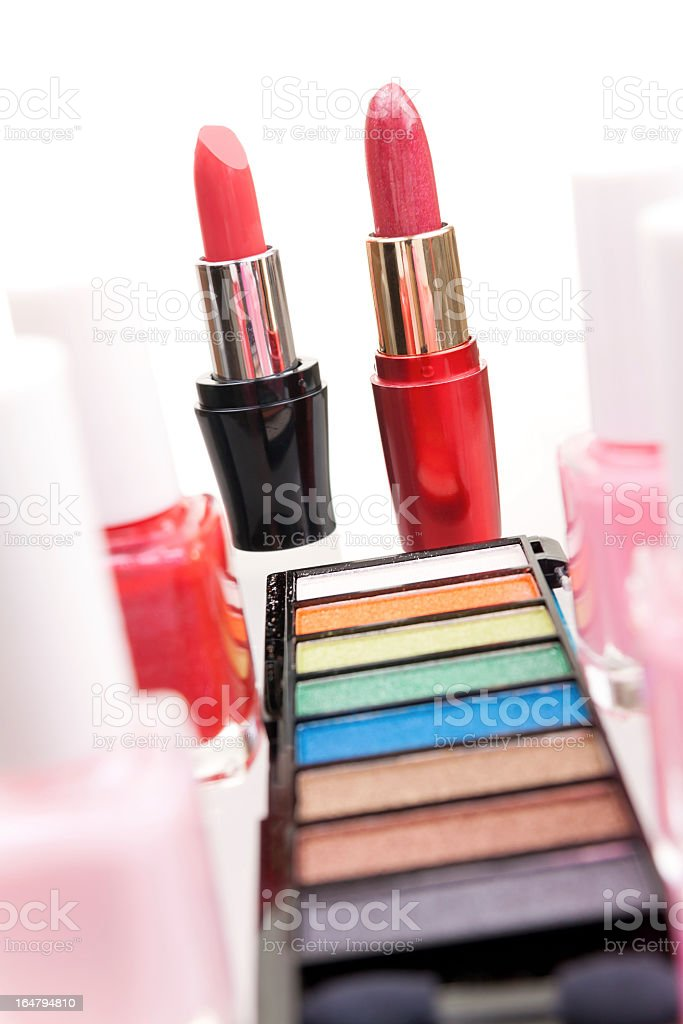 Make-up cosmetics royalty-free stock photo