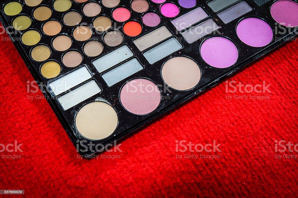 Makeup cosmetics stock photo